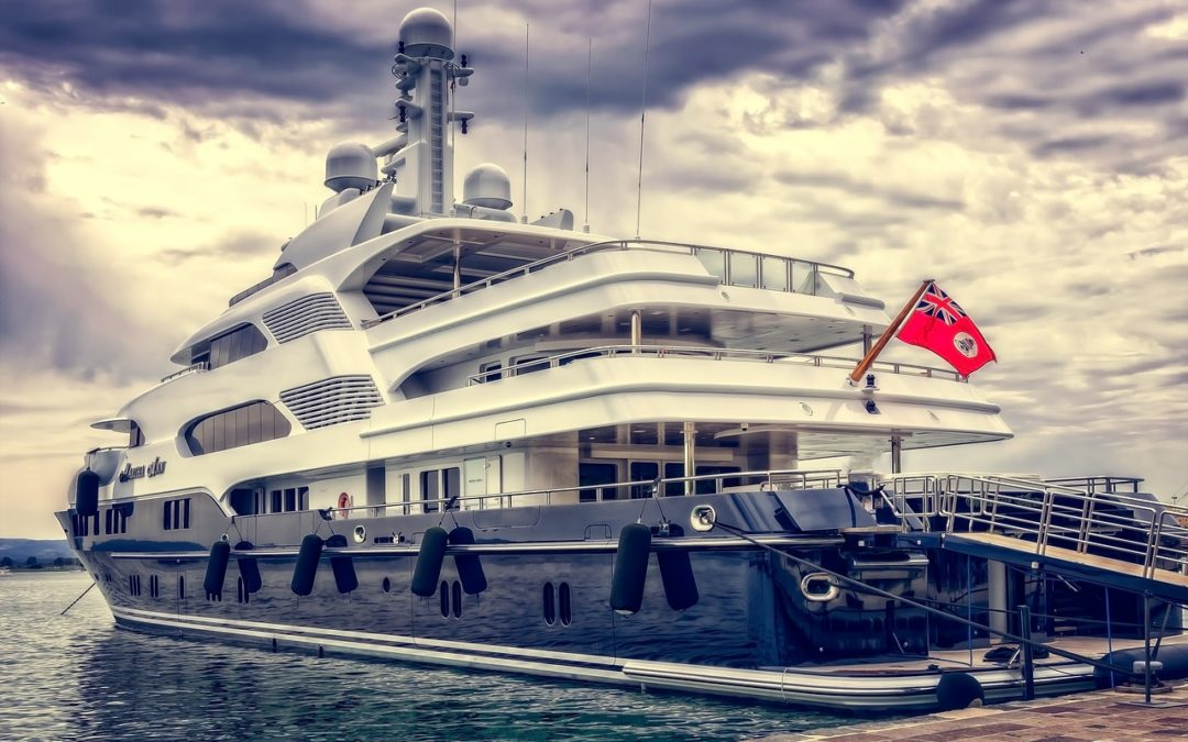 A cruise in a yacht